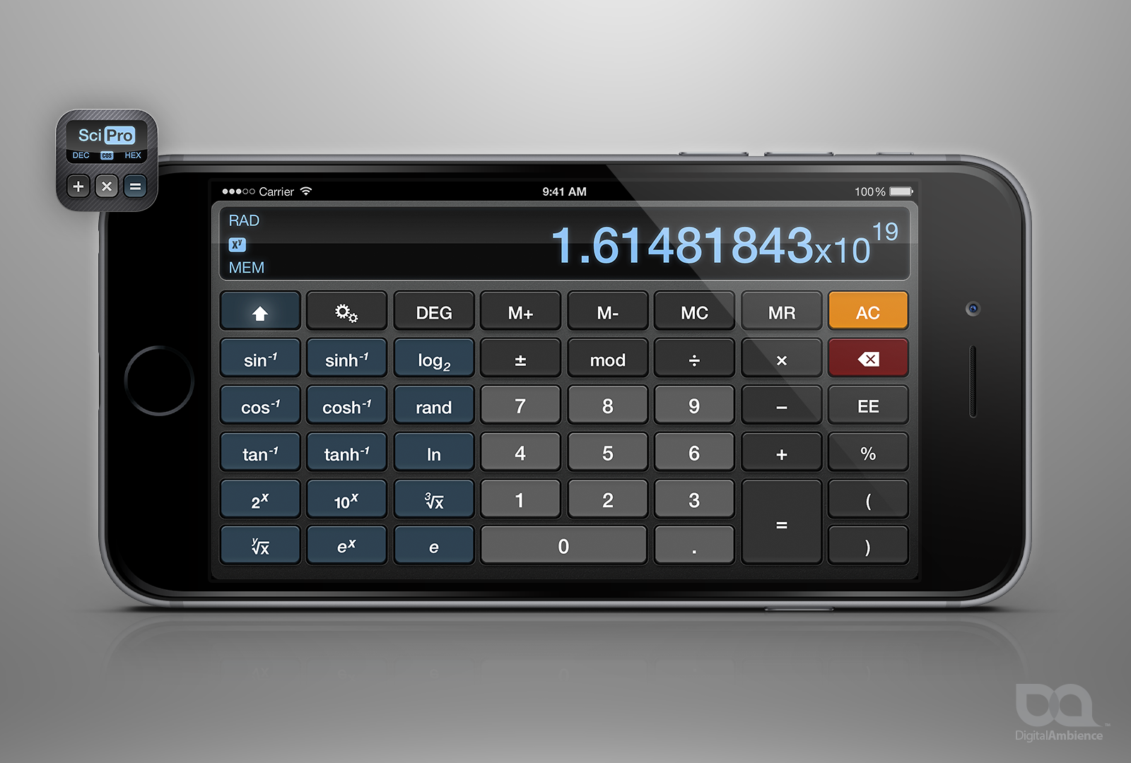 Sci:Pro Calculator for iPhone, iPad, iPod Touch – Digital